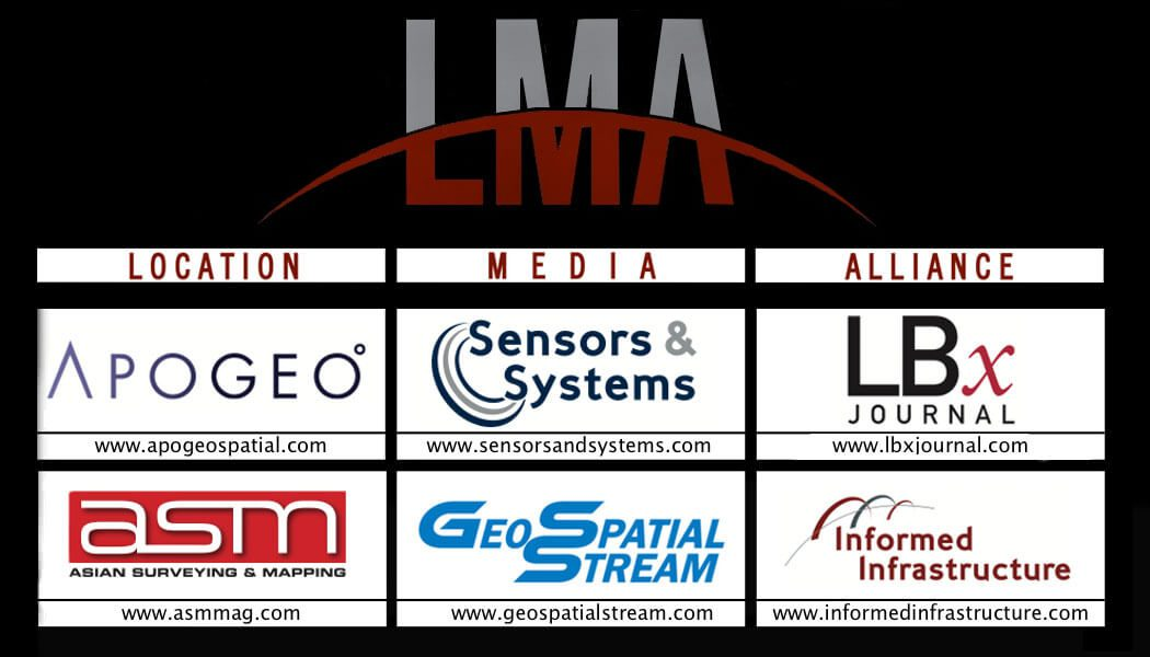 GeoSpatial Stream is syndicated to the 60,000+ subscribers of Location Media Alliance publications.