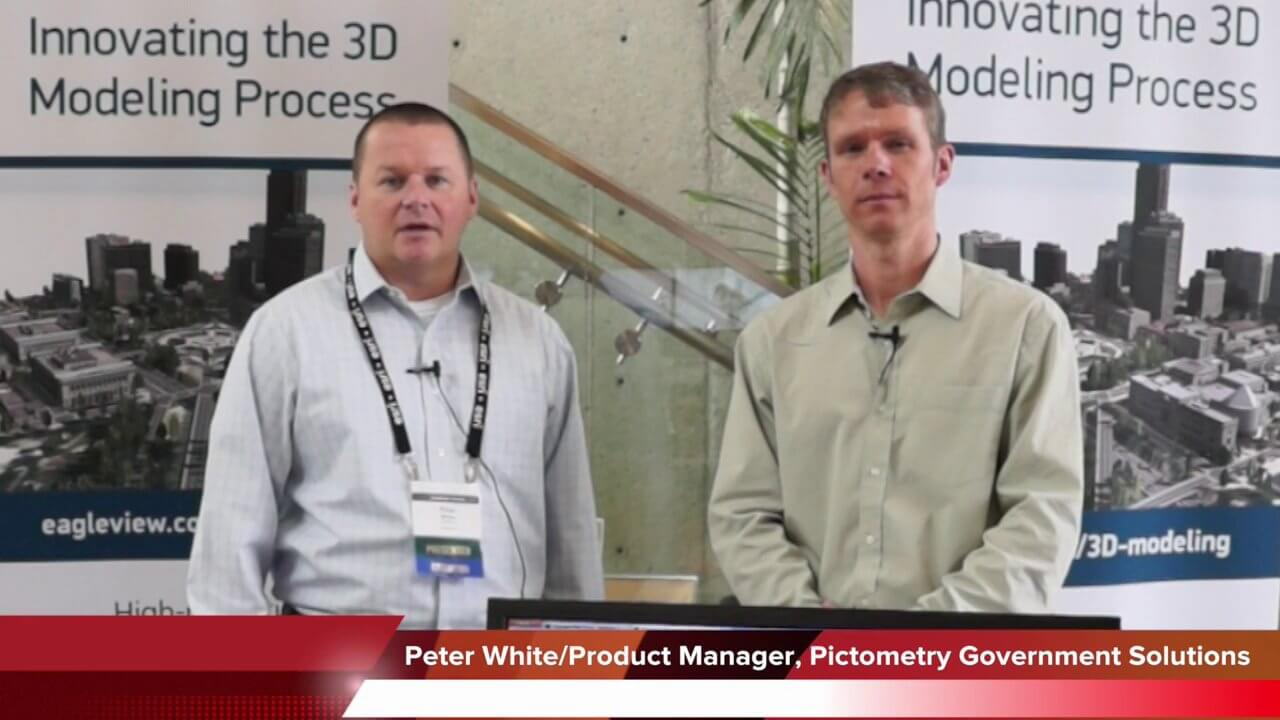 Pictometry/EagleView Interview at GeoDesign Summit