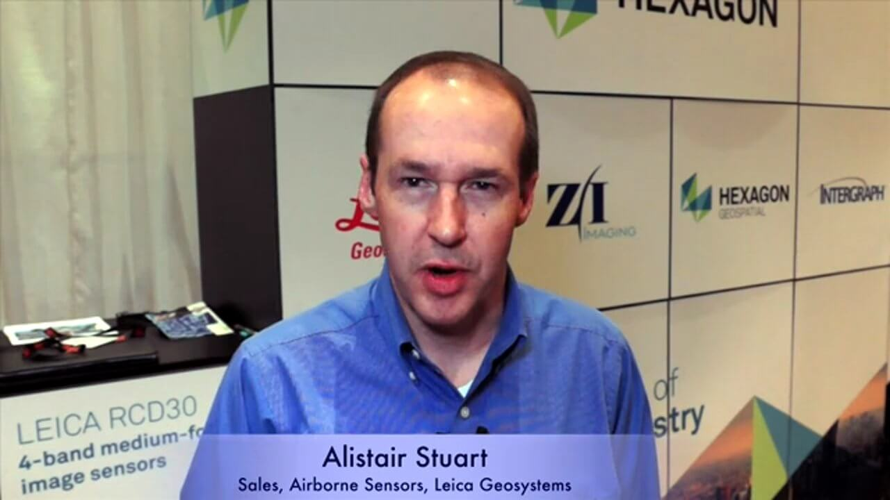 Alistair Stuart, Leica Geosystems, Interview