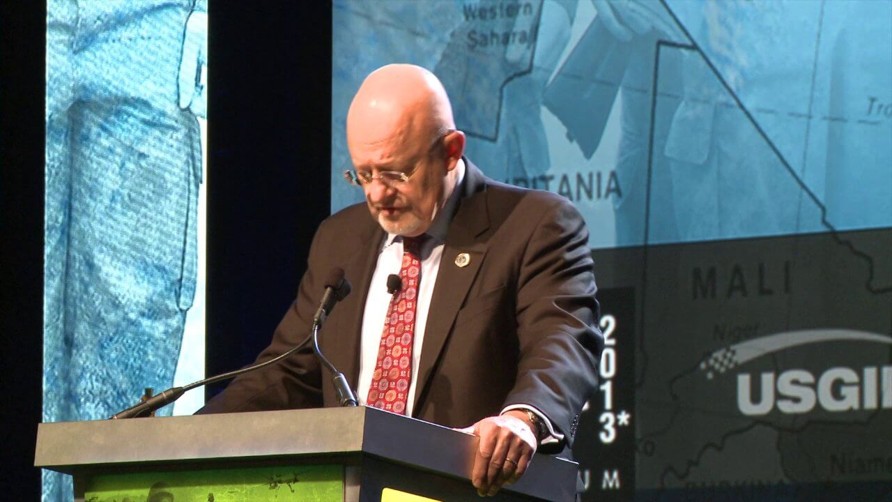 GEOINT Keynote: James Clapper, Director of National Intelligence (Part 2)