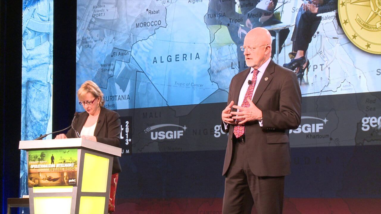 GEOINT Keynote: James Clapper, Director of National Intelligence (Part 4/Q&A)