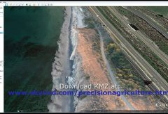 Santa Barbara Refugio Oil Spill in 3D Using Canon Camera