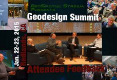 Geodesign Summit 2015: Attendee Feedback